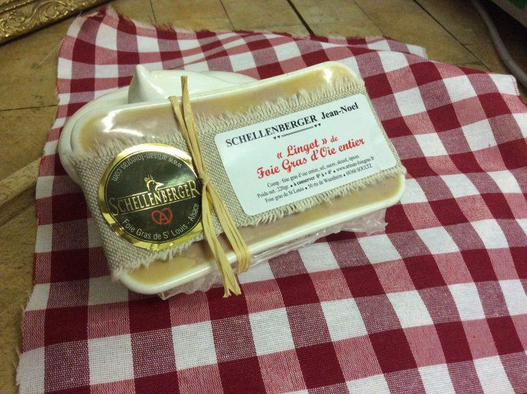 Lingot de foie gras entier d'Oie
