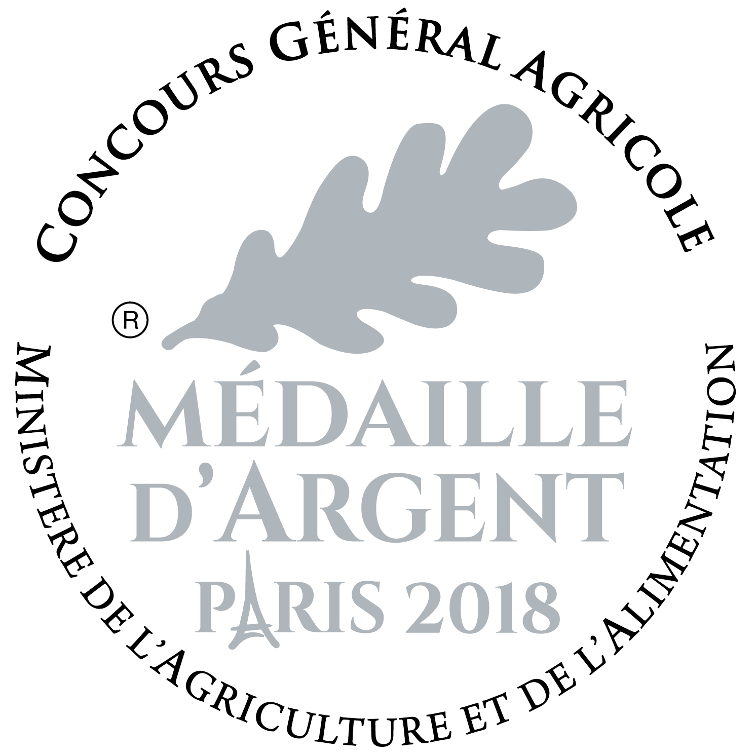 Medaille Argent 2018