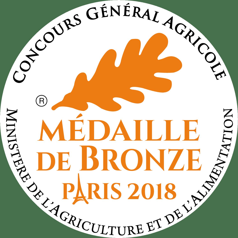 Medaille Bronze 2018
