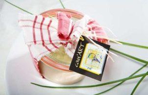 Verrine de foie gras d'oie mi-cuit